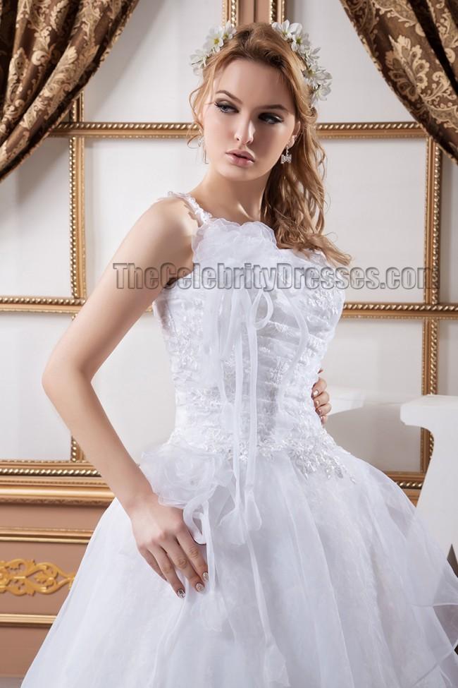 Gorgeous a line lace one shoulder wedding dress bridal for Lace one shoulder wedding dress
