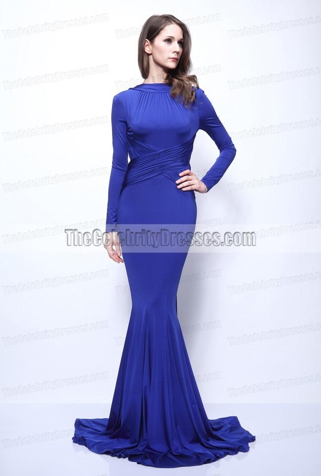 Hilary Swank Sexy Open Back Formal Dress Prom Gown Oscars