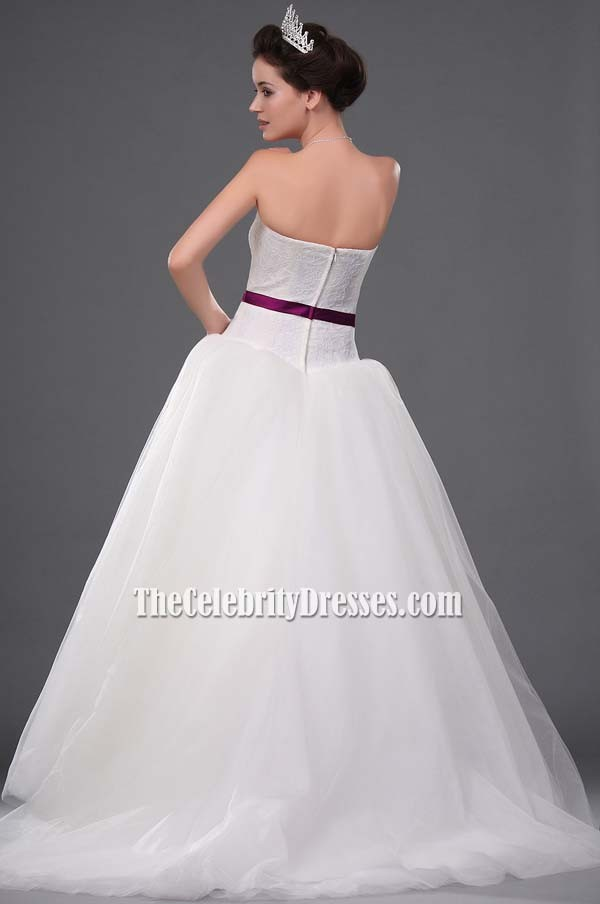 Kate Hudson Wedding Dress/ Bridal Gown in Movie Bride Wars TCD0209 ...