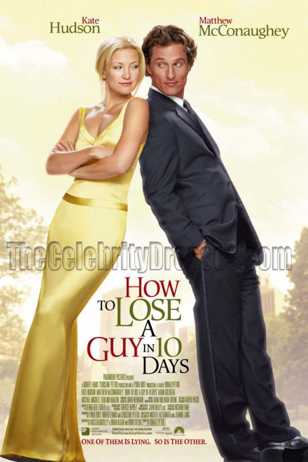 Kate Hudson How to Lose a Guy in 10 Days Yellow dress ...