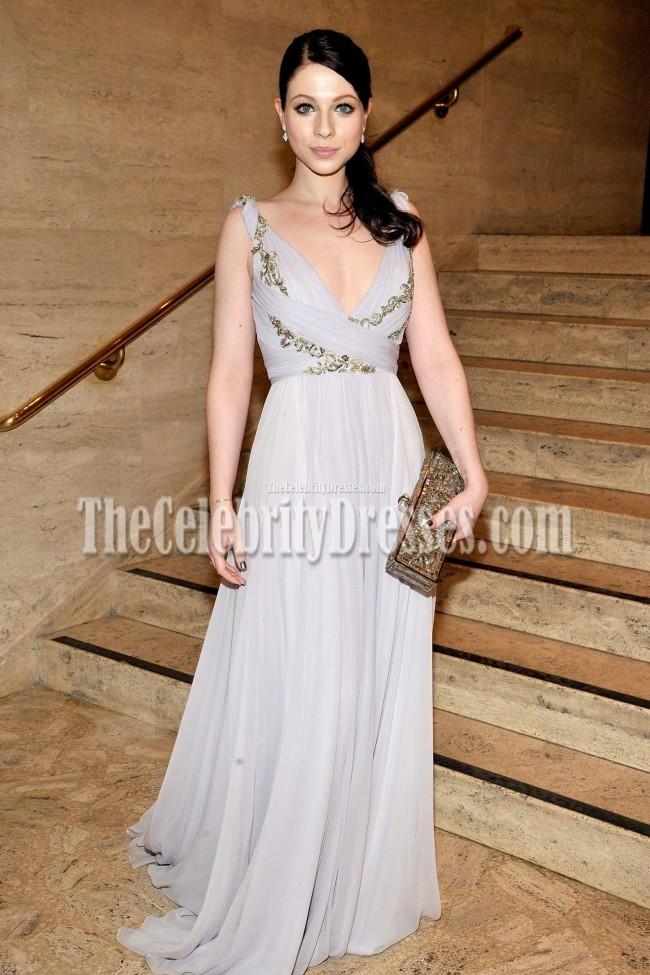 Michelle Trachtenberg Marchesa Evening Dress 2011 School