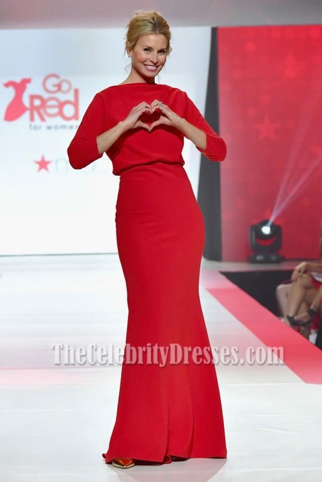 Red Mermaid Dress