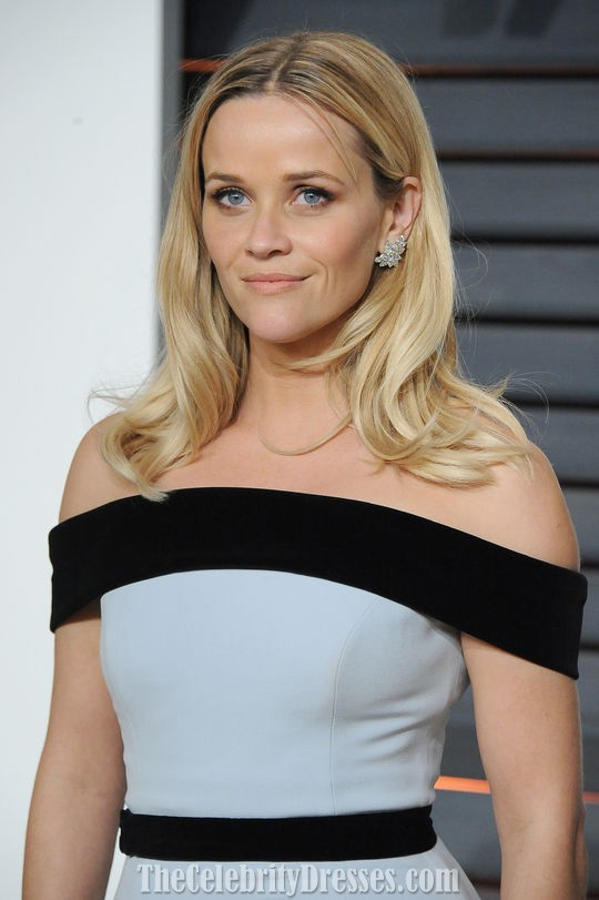 Reese Always Has The Perfect Red Carpet Hair And Makeup Tom Ford