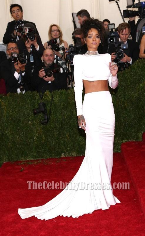 rihanna white dresses 2014 wwwpixsharkcom images