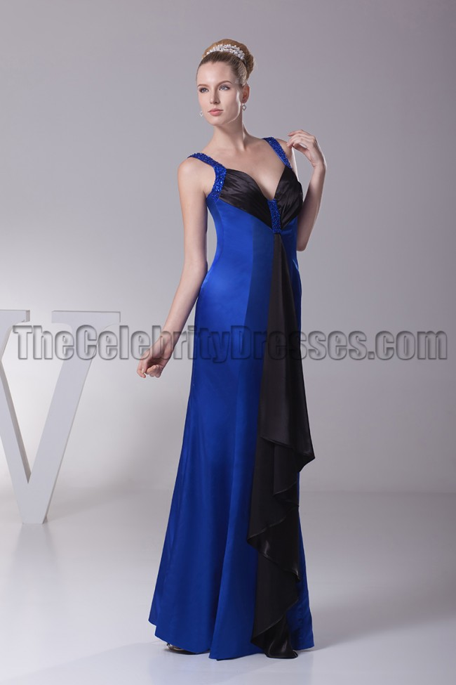 Looks - Blue royal and black dresses video