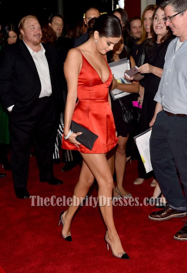 Selena Gomez Mini Party Dress &-39-Rudderless&-39- LA Premiere Celebrity ...
