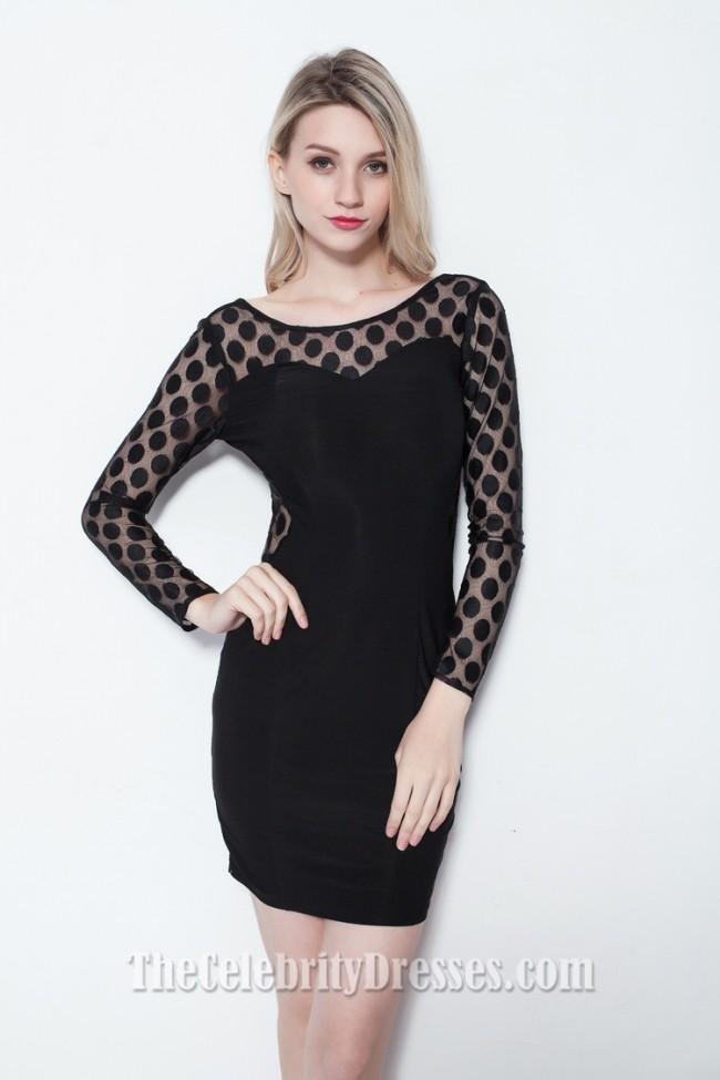Sexy Short Mini Little Black Dress Party Cocktail Dresses ...