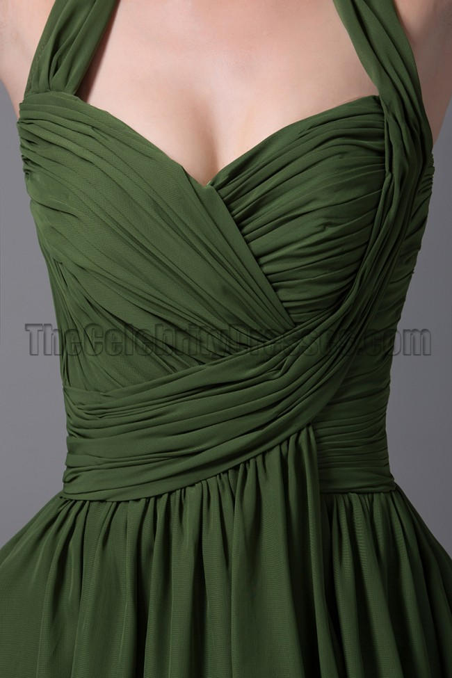 Dressytailor Long Satin Dark Green Prom Dress Formal ...
