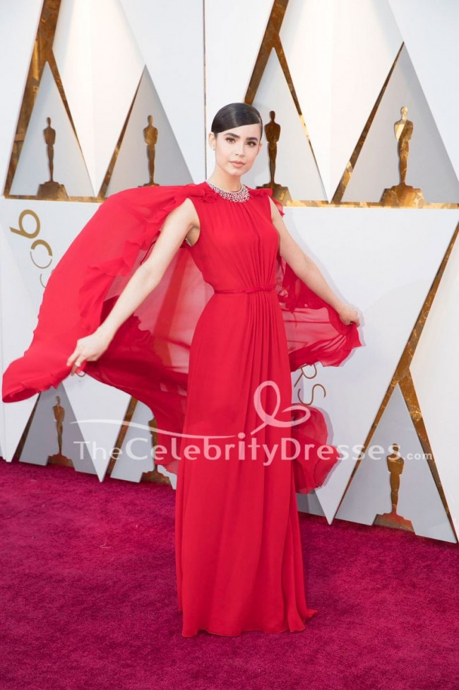 Sofia Carson 2018 Oscars Red Carpet Formal Dress Celebrity Evening ...