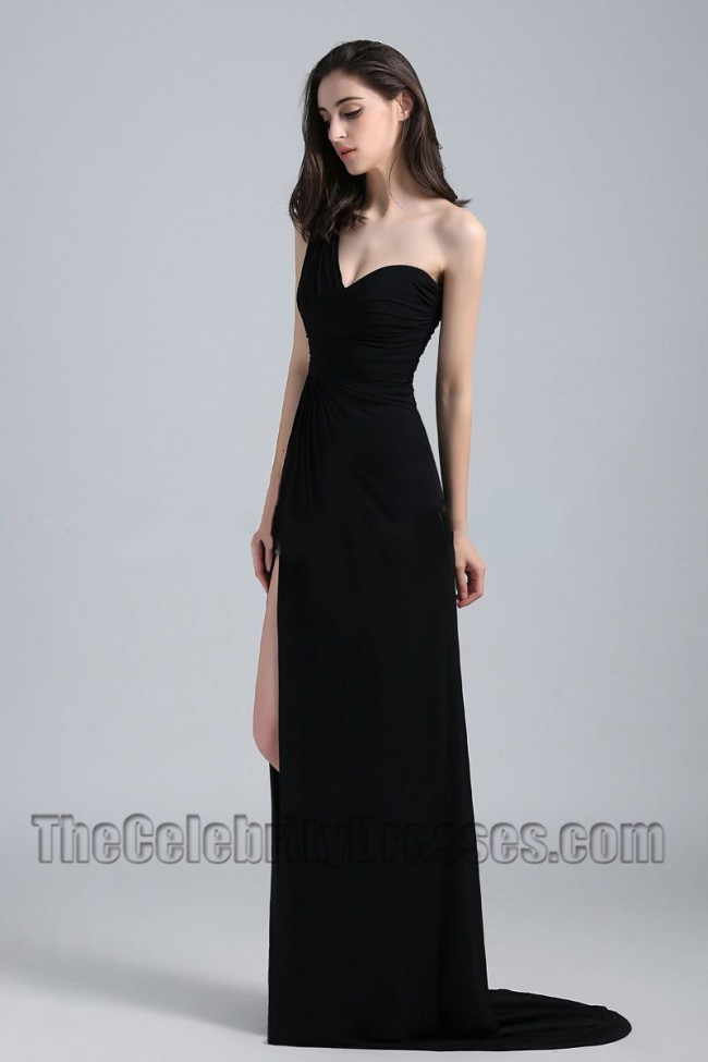 Jen black prom dress