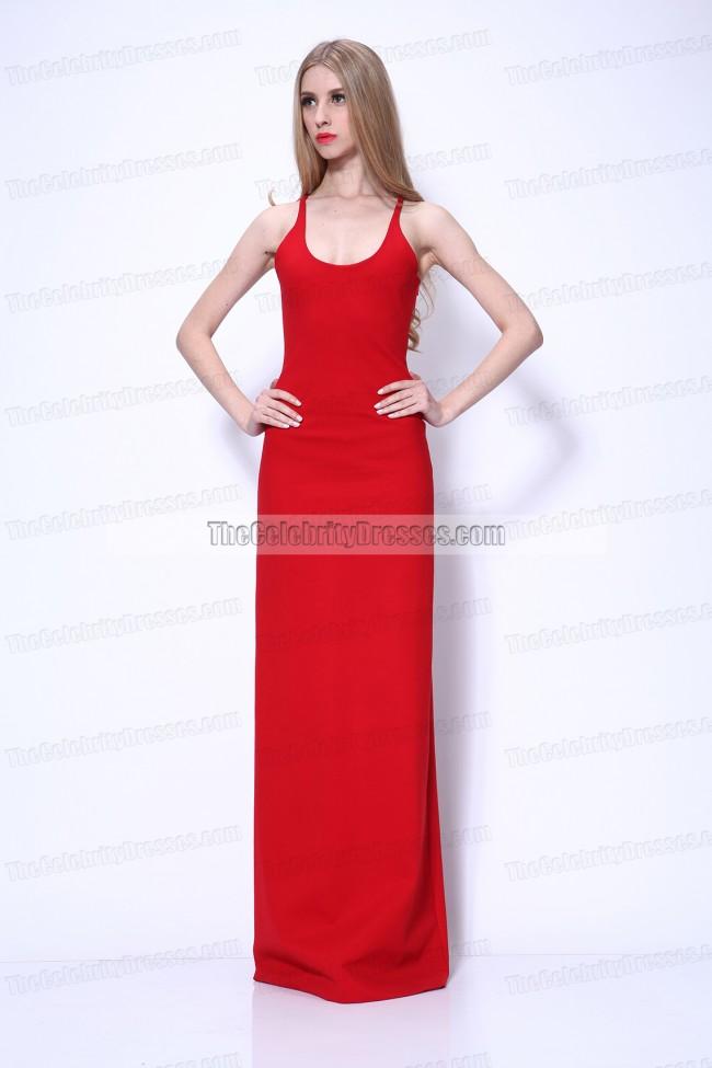 8795458908 Jennifer Lawrence Red Prom Dress 2011 Oscar Awards Red Carpet Gown