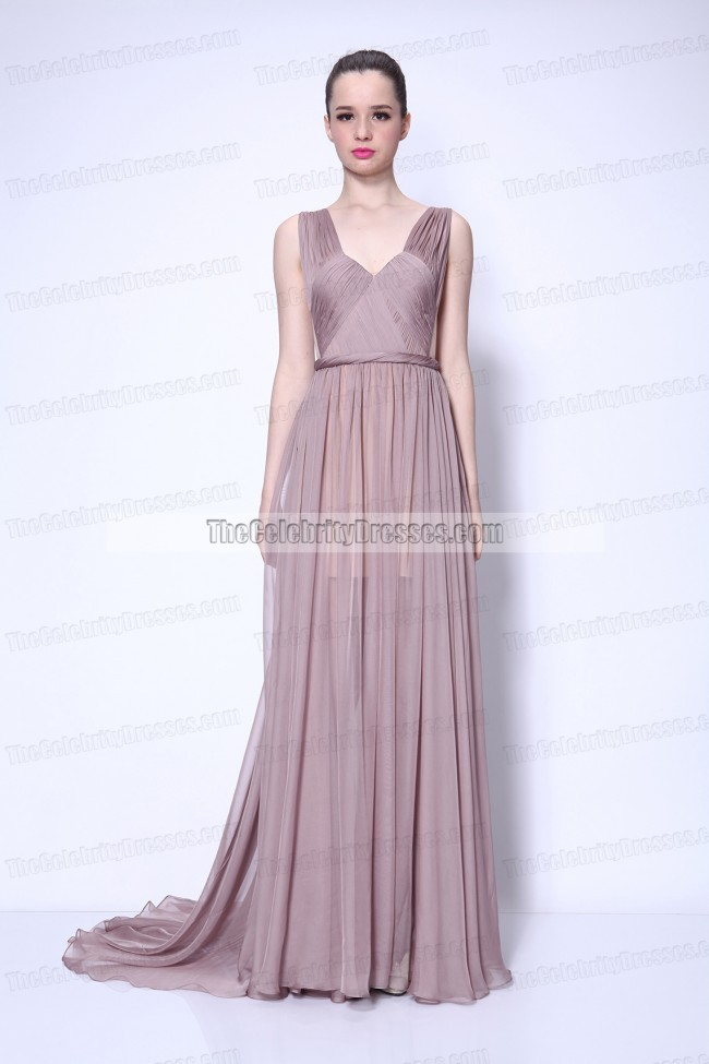 64ce4c47bb Taylor Swift Chiffon Prom Dress in Video Begin Again gorgeous Gown ...