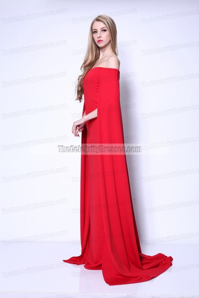 lupita nyong�o red formal dress golden globe awards 2014