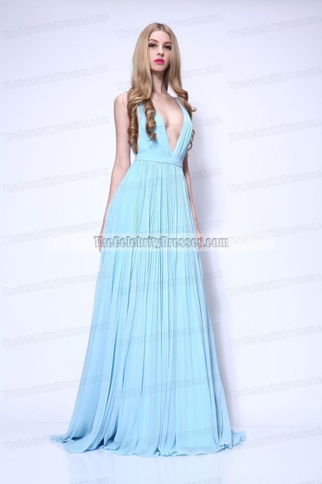 Lupita Nyong'o Light Sky Blue Formal Dress 2014 Oscar Red ...