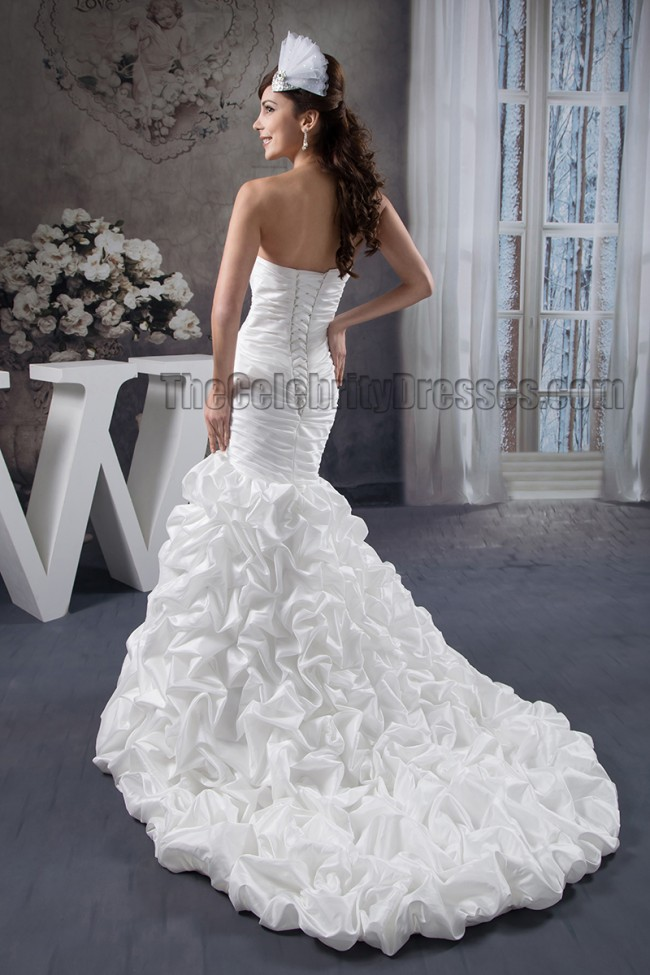 Sweetheart Trumpet Wedding Dress - Locallygrownweddings.com