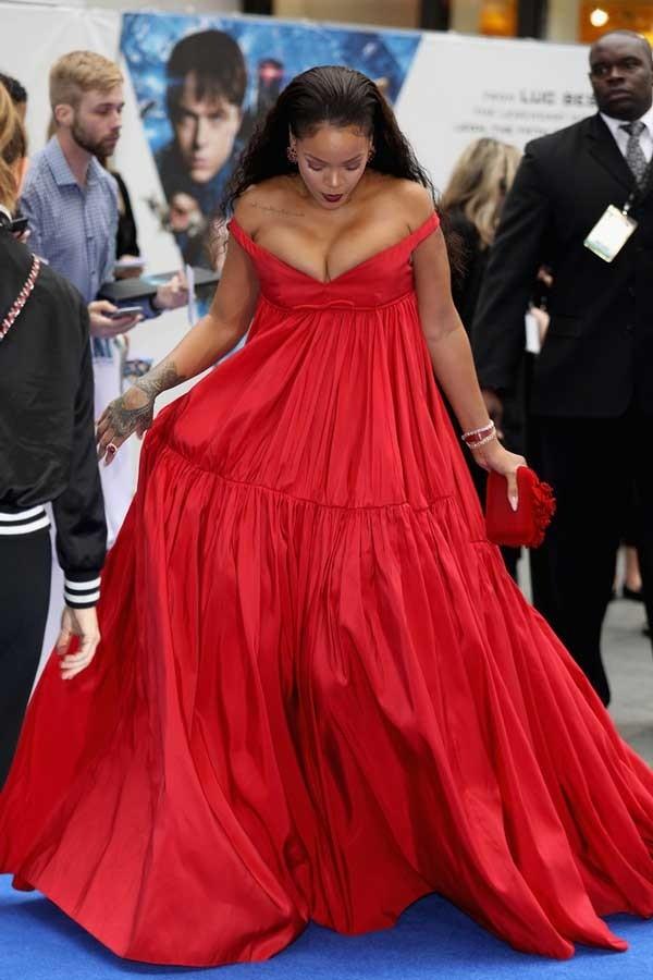 Rihanna Empire Gown