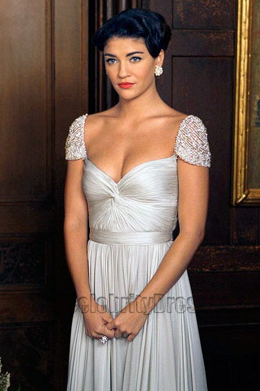 Vanessa Hudgens Long Evening Wedding Dress Gossip Girl Season 3 ...