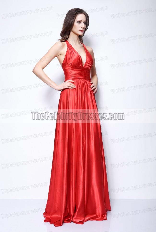 Vanessa Hudgens Red Prom Dress High School Musical Premiere Celebrity Dresses - TheCelebrityDresses