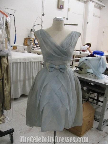 Zooey Deschanel Short Wedding dress In film 500 Days of ...