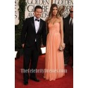 Rhea Durham Strapless Prom Bridesmaid Dress 2011 Golden Globes