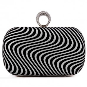 Ladies Simple OL Bag Fashion Evening Clutch Handbag Party Purse 6