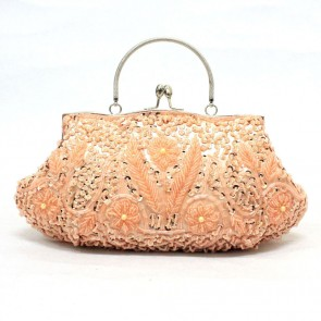 Girls Handmade Beading Bags Women Retro Evening Handbag Brides Clutch Bag TCDBG0120