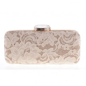 Ladies Fashion Lace Evening Bag Mini Party Clutch Bags  2