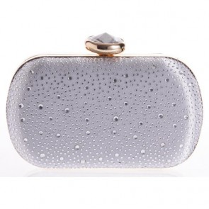 New Diamond Studded Mini Handbag Ladies Casual Evening Handmade Bags TCDBG0136