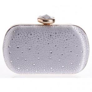 New Diamond Studded Mini Handbag Ladies Casual Evening Handmade Bags TCDBG0136