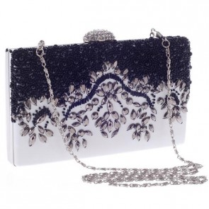 New Fashion Beading Clutch Bags Women Simple Evening Handbag 7
