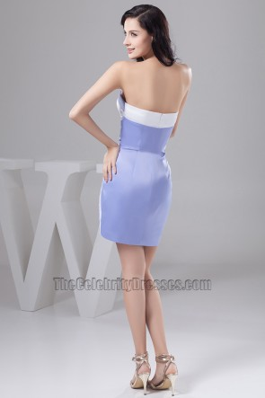 Celebrity Inspired Strapless Party Homecoming Cocktail Dresses