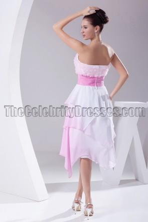 Sweetheart Knee Length Bridesmaid Cocktail Dresses