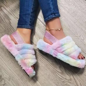 Women's Open-toe Two Ways Wear Sliders
