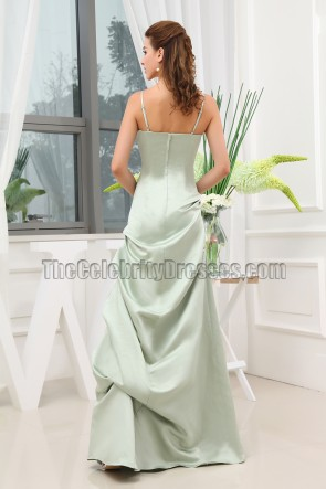 Elegant Spaghetti Straps Floor Length Formal Dress Prom Gown