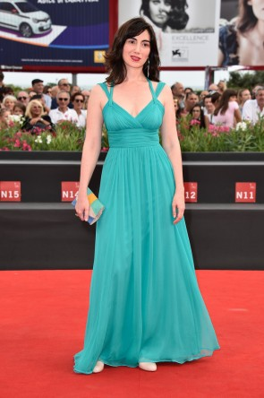 Arevik Martirosyan Formal Dress 'The Cut' premiere during the 71st Venice Film Festival TCD6220