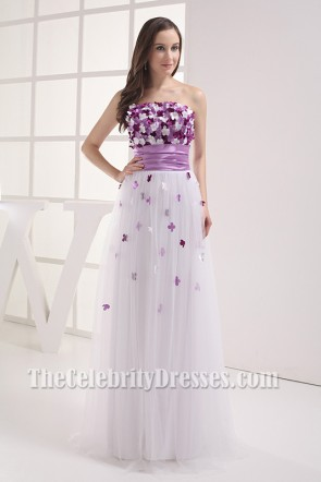 Gorgeous Strapless Prom Dresses Evening Gowns