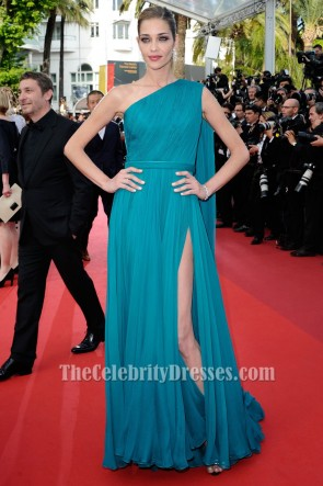 Ana Beatriz Barros 69th Cannes Film Festival Red Carpet Formal Dress TCD6680