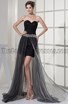 Black Sweetheart Prom Gown Evening Party Dresses