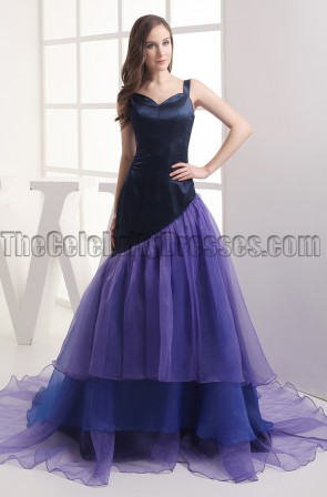 Celebrity Inspired A-Line Formal Dress Evening Gown
