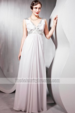 Chic V-Neck Sequined Prom Gown Evening Formal Dresses