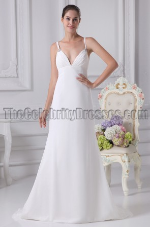 Discount Simple A-Line Wedding Dresses