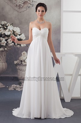 wedding dress strapless a line