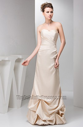 Elegant Strapless Sweetheart Formal Dress Evening Prom Gown