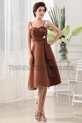 Elegant Sweetheart Bridesmaid Dress Cocktail Dresses