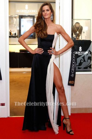 Iza Goulart Strapless Formal Dress 68th International Cannes Film Festival TCD6671