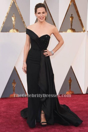 Jennifer Garner Black Formal Dress 88th Annual Academy Awards TCD6573