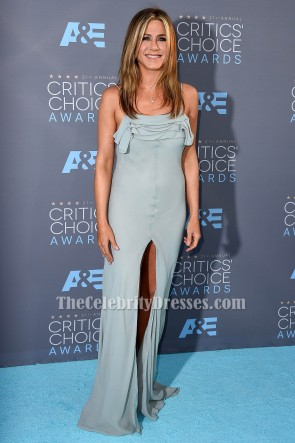 Jennifer Aniston Spaghetti Straps Evening Dress S21st Annual Critics' Choice Awards TCD6523