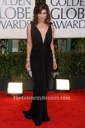 Jo Champa Sexy Black Evening Dress 67th Annual Golden Globe Awards TCD6213