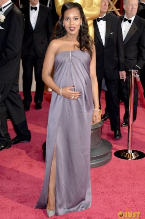 Kerry Washington Oscars 2014 Strapless Formal Dress Red Carpet Gown TCD6482