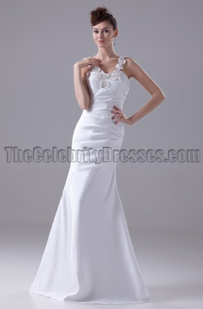 Trumpet / Mermaid Floor Length Wedding Dresses